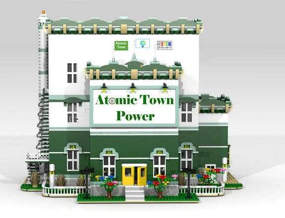 Atomic Town Power Front View