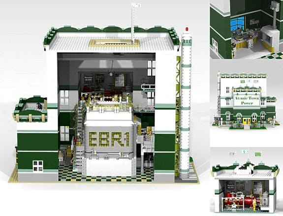 Atomic Town Power LEGO Design