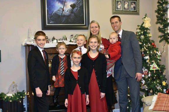Adam Andersen family