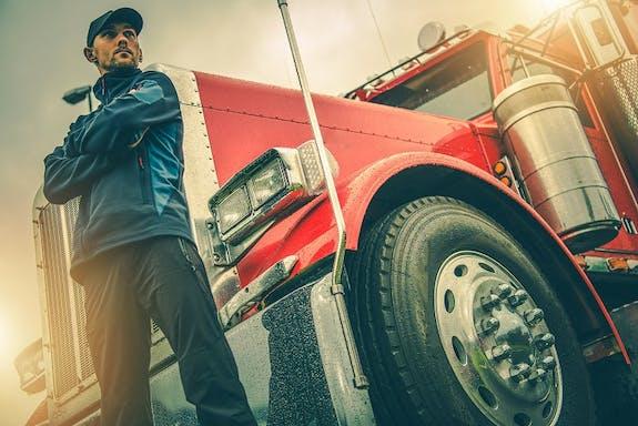 Trucker, Truck Driver, Semi-truck, Truck, Freeway