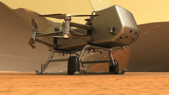 Dragonfly, NASA, Titan, Saturn