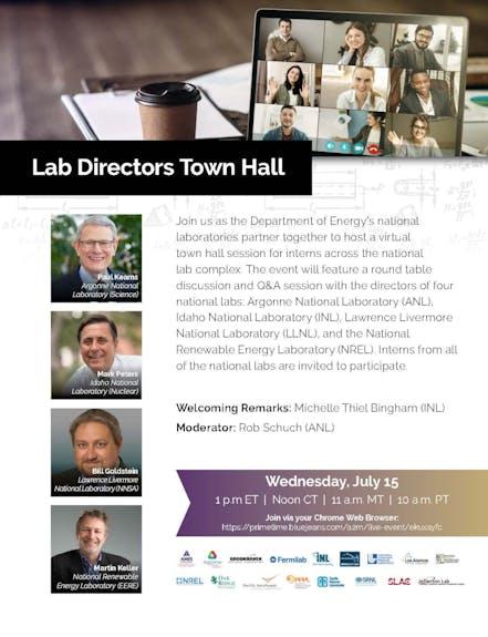 University Partnerships Lab Directors Town Hall r