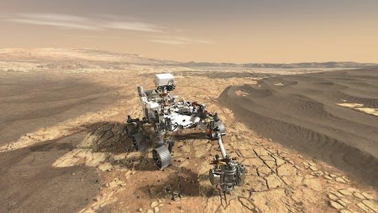 Peserverance, Mars, Rover