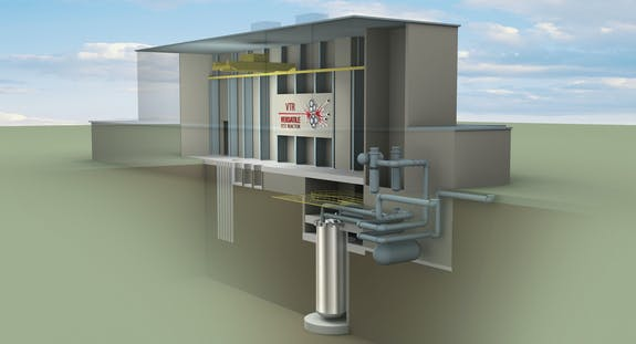 VTR, Versatile Test Reactor, Reactor
