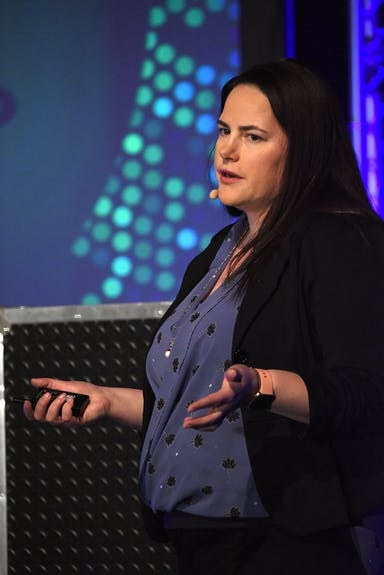 Sarah Freeman, speaker, hacker