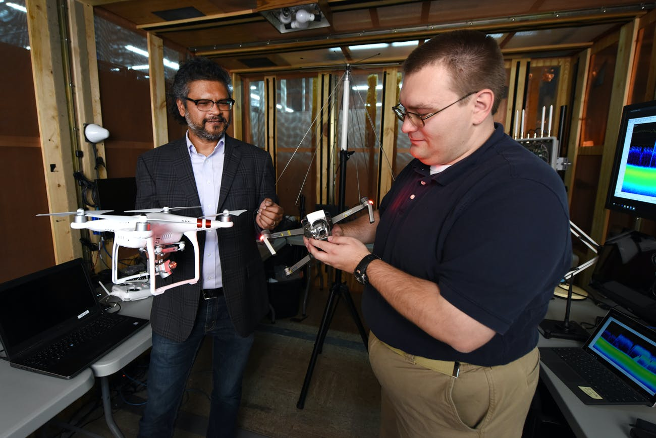 Wireless Security Institute Test Bed unmanned drone security