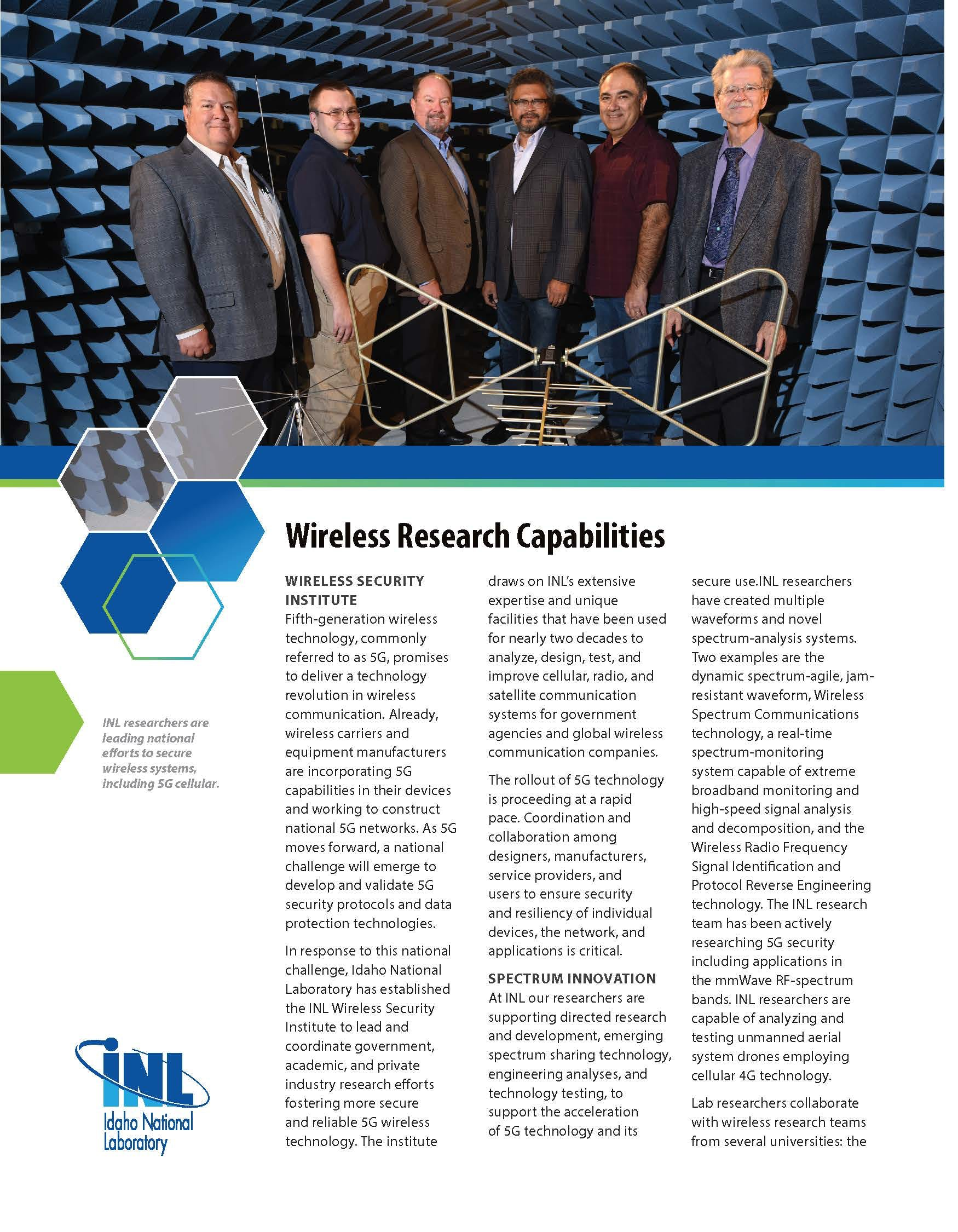 Wireless Research Capabilities R Page