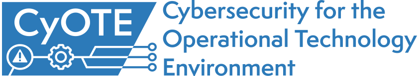 cybersecurity for the operation technology environment